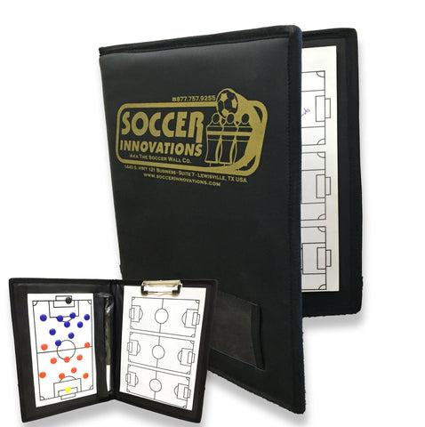 Deluxe All-In-One Coach's Folder by Soccer Innovations - Soccer Source - Your Source for Quality Soccer Equipment
