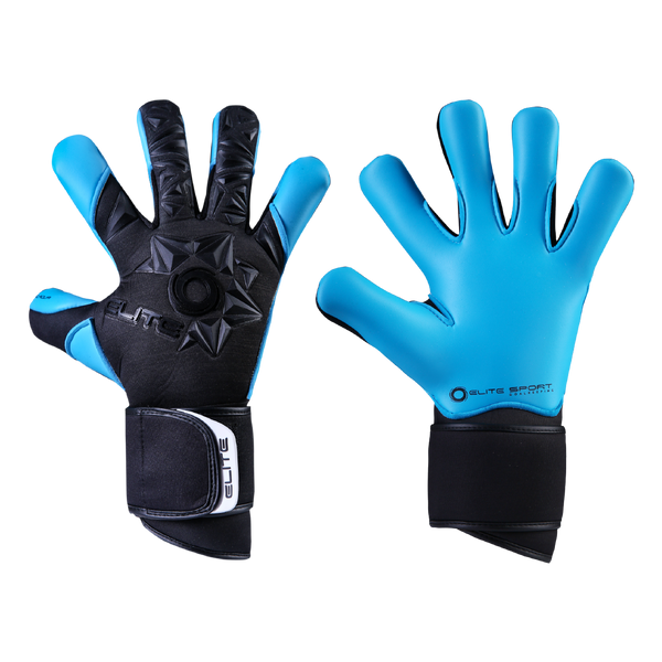 Elite Sport Neo Aqua Goalkeeper Gloves-Soccer Command