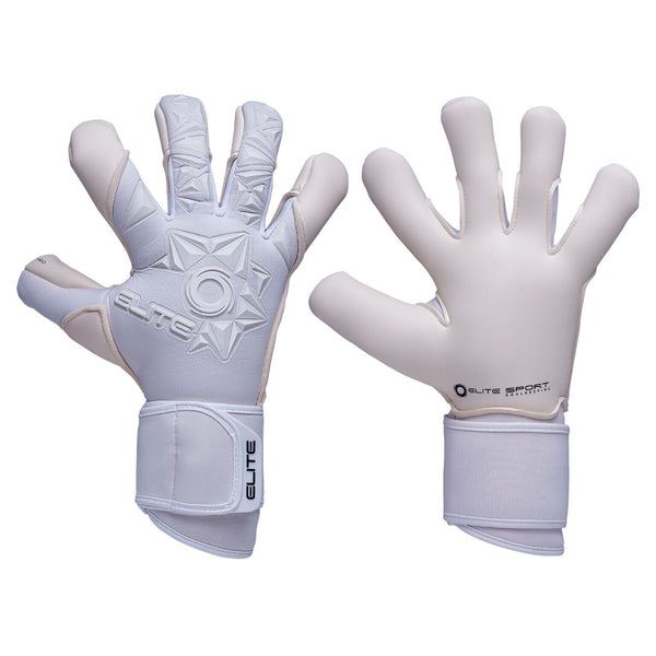Elite Sport Neo White Goalkeeper Gloves-GK-Soccer Source