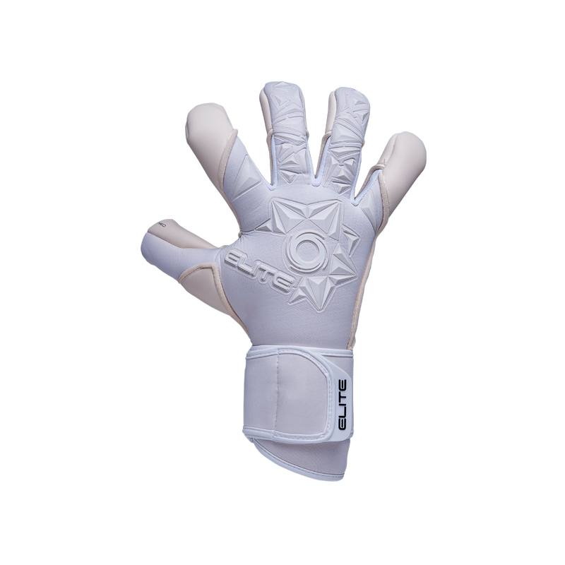 Elite Sport Neo White Goalkeeper Gloves-Soccer Command