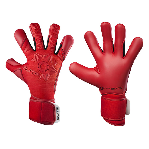 Elite Sport Neo Red Goalkeeper Gloves-GK-Soccer Source