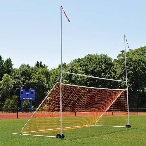 Jaypro Portable Practice Soccer/Football Combo Goal (high school)-Soccer Command