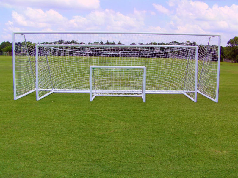 6.5' x 18.5' Pevo Park Series Soccer Goal-Equipment-Soccer Source