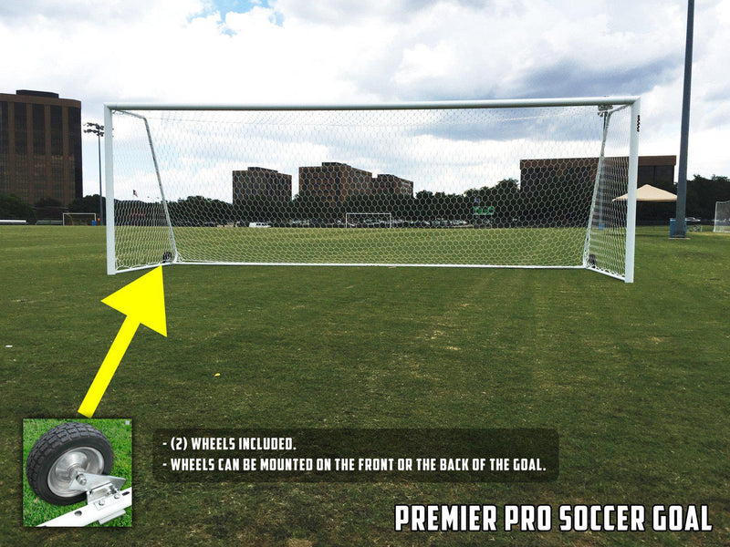 8' x 24' Premier Goals (pair) by Soccer Innovations-Soccer Command