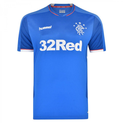 18/19 Rangers F.C. Home SS Soccer Jersey-All Apparel-Soccer Source