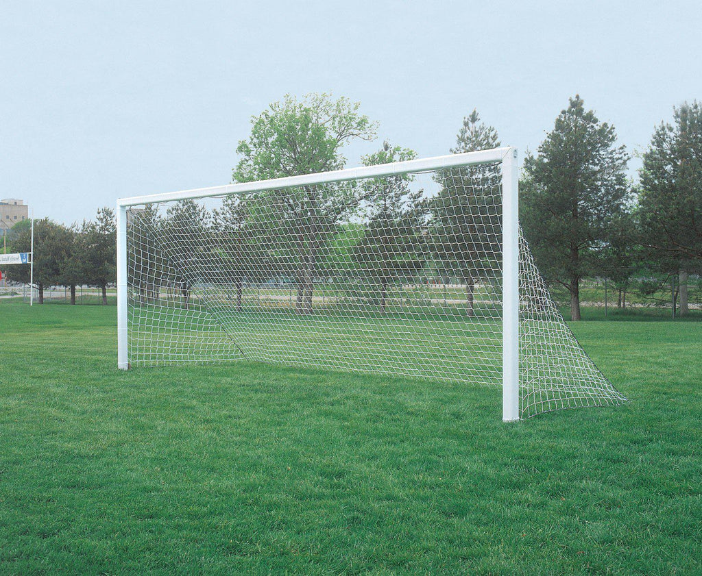 Bison 4mm Square Mesh No Top Depth Soccer Goal Nets (pair)