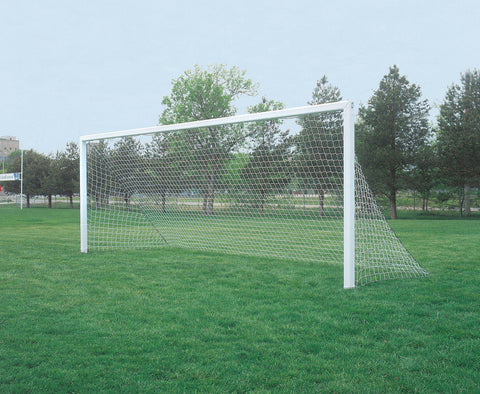 Bison 4mm Square Mesh No Top Depth Soccer Goal Nets (pair)-Equipment-Soccer Source