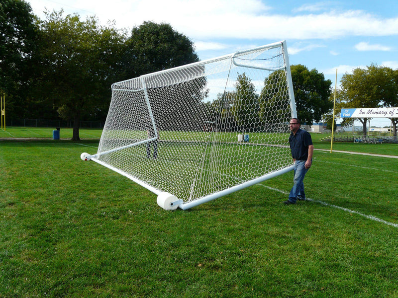 7' x 21' Bison Euro No-Tip Soccer Goals (pair)-Soccer Command