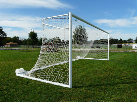 8' x 24' Bison Euro No-Tip Soccer Goals (pair)