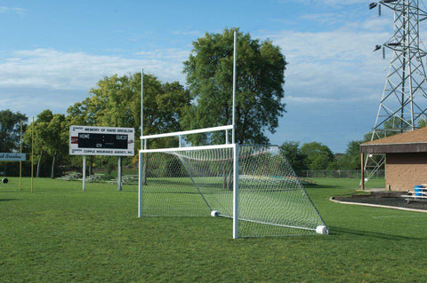 8' x 24' Bison Portable Soccer/Football Combo Goals (pair)-Club Goals-Soccer Source