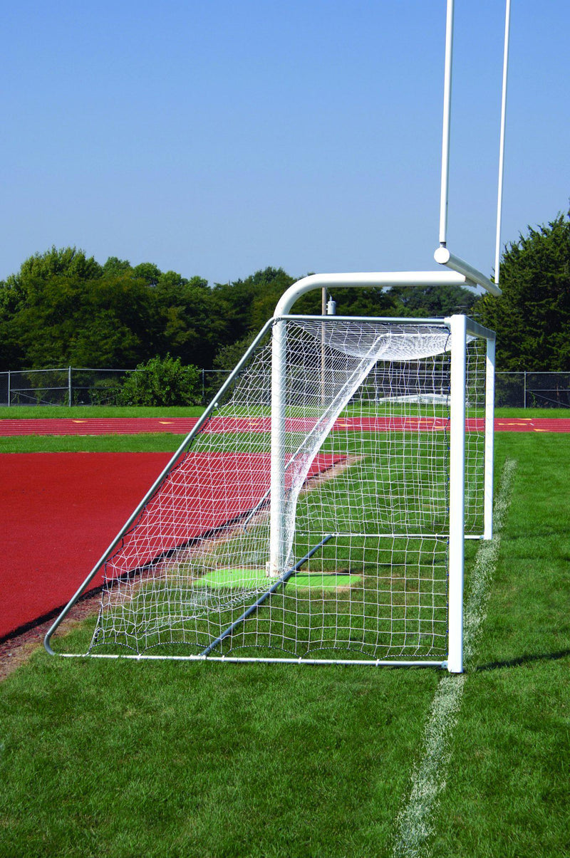 "7' x 21' Bison 4"" Square ShootOut Soccer Goals (pair)-Soccer Command"