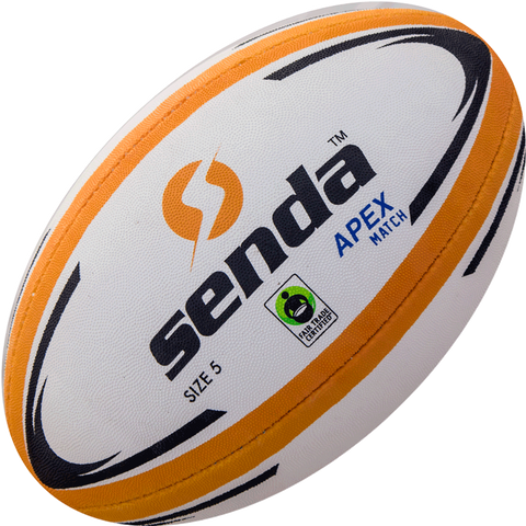 Senda Apex Match Rugby Ball - Fair Trade Certified-Other Sports-Soccer Source
