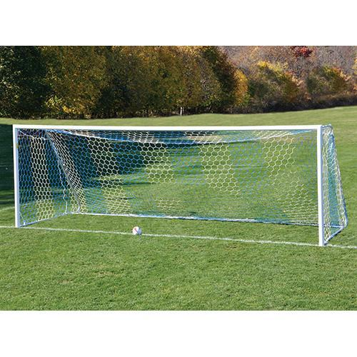 Jaypro 8' x 24' Deluxe Classic Official Round Goal Package-Equipment-Soccer Source