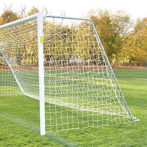 Jaypro 8' x 24' Semi-Permanent Classic Official RoundvGoals (pair)-Soccer Command