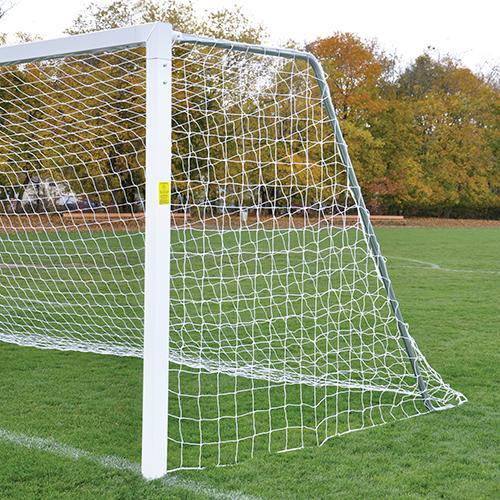 Jaypro 8' x 24' Semi-Permanent Classic Official Square Goals (pair)-Equipment-Soccer Source