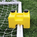Jaypro 8' x 24' Deluxe Classic Official Round Goal Package-Soccer Command