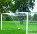 "7' x 21' Bison 4"" Round No-Tip Soccer Goals (pair)-Soccer Command"