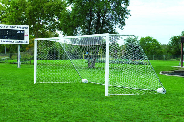 Bison 4mm Hexagon Mesh Soccer Goal Nets (pair)-Soccer Command
