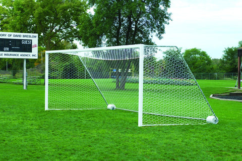 Bison 4mm Hexagon Mesh Soccer Goal Nets (pair)