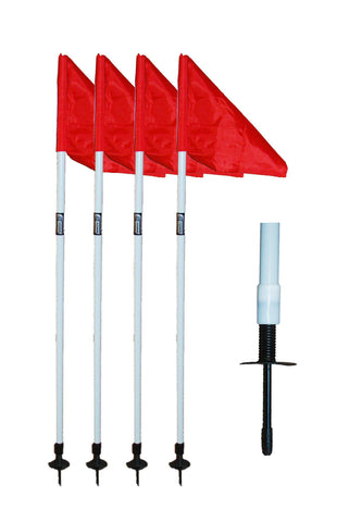 "1"" Corner Flag Set by Soccer Innovations - Soccer Source - Your Source for Quality Soccer Equipment"