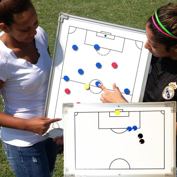 Deluxe Two-Sided Tactical Board by Soccer Innovations (3 sizes)-Soccer Command