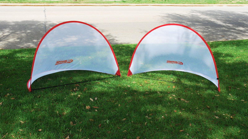 4' x 6' USA Easy Pop-Up Soccer Goals (pair) by Soccer Innovations-Soccer Command