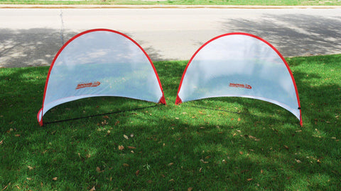2' x 4' USA Easy Pop-Up Soccer Goals (pair) by Soccer Innovations - Soccer Source - Your Source for Quality Soccer Equipment