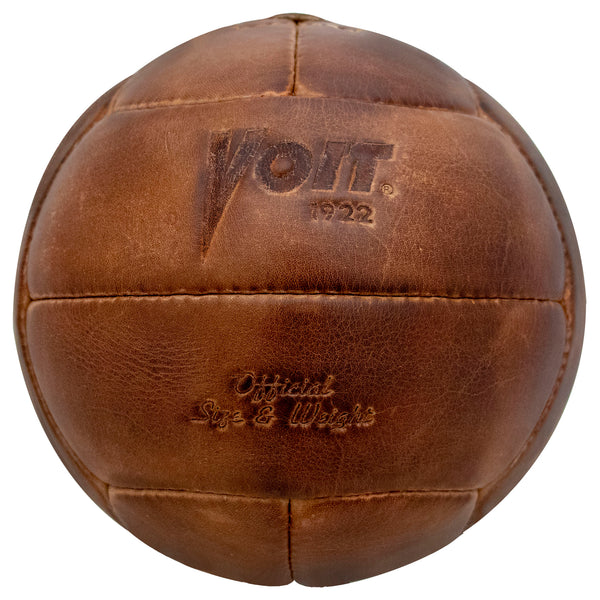 Voit Legacy Leather Soccer Ball-Soccer Command