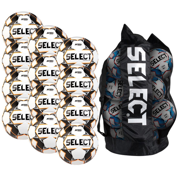 Select Viking DB v20 Soccer Ball Bundle (12-pack with bag)-Equipment-Soccer Source