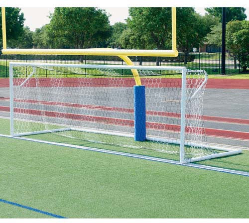 8' x 24' Alumagoal Euro Stadium Soccer Goals (pair)-Equipment-Soccer Source