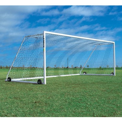 8' x 24' Alumagoal Manchester Match Soccer Goals (pair) - Soccer Source - Your Source for Quality Soccer Equipment