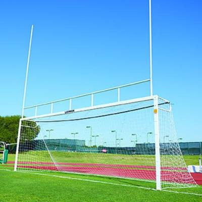 Alumagoal Soccer Goals/Football Field Goals Combo (pair) - Soccer Source - Your Source for Quality Soccer Equipment