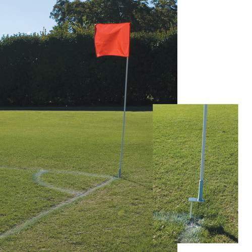 Alumagoal Flexible Soccer Corner Flags - Soccer Source - Your Source for Quality Soccer Equipment
