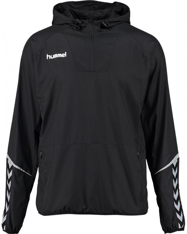 hummel Authentic Charge Light Weight Windbreaker Jacket-Apparel-Soccer Source