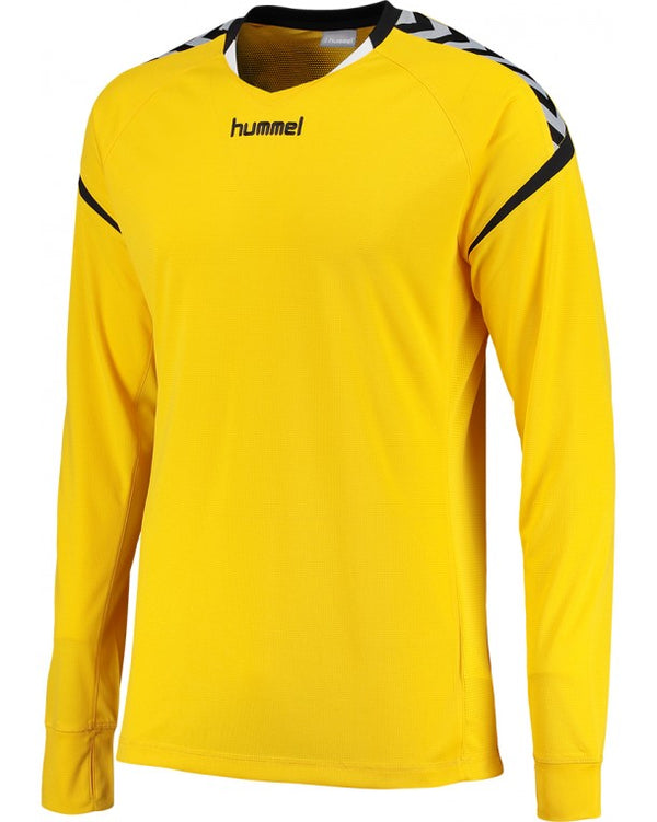 hummel Authentic Charge LS Poly Soccer Jersey-Apparel-Soccer Source