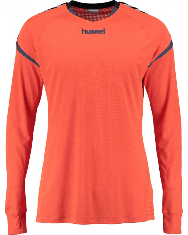 hummel Authentic Charge LS Poly Soccer Jersey-Soccer Command