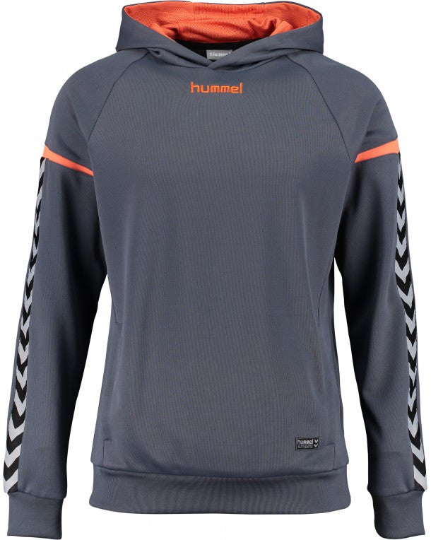 hummel Authentic Charge Poly Hoodie Sweat Top-Soccer Command