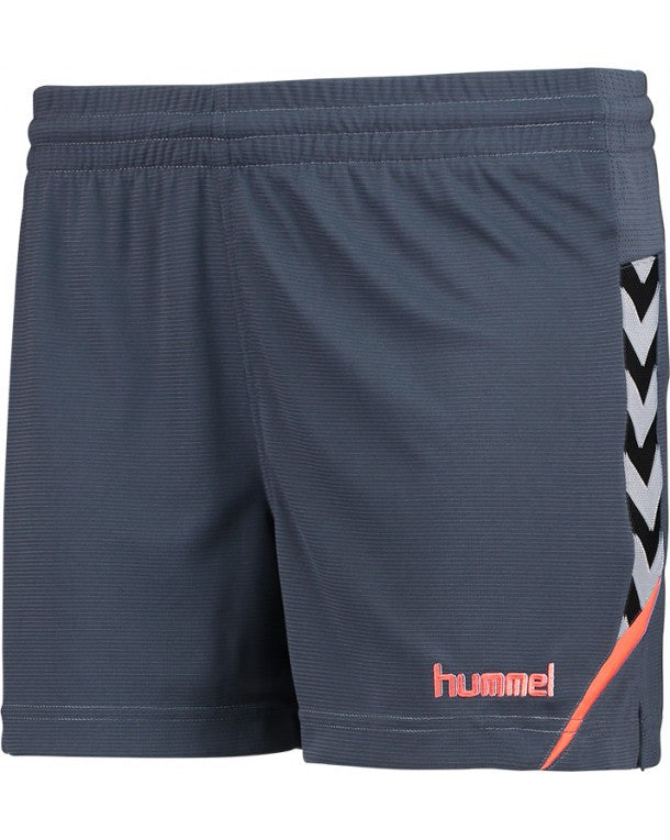 hummel Authentic Charge Poly Women's Soccer Shorts-Soccer Command