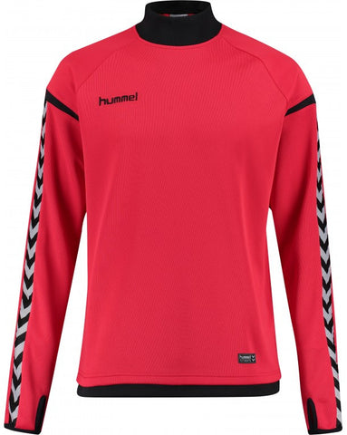 hummel Authentic Charge Turtle Neck Soccer Training Sweat Top