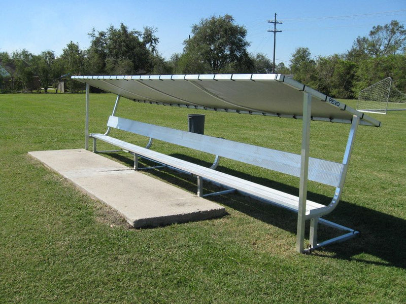 Pevo Team Soccer Bench Shelter Replacement Cover-Soccer Command