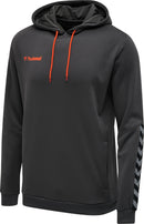 hummel hmlAuthentic Poly Hoodie-Soccer Command