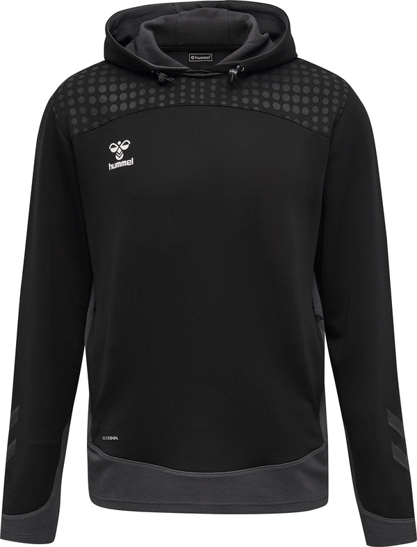 hummel Lead Poly Hoodie-Soccer Command