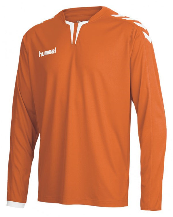 hummel Core Long Sleeve Soccer Jersey (youth)-Soccer Command