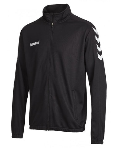 hummel Core Poly Soccer Warm Up Jacket-Warm Ups-Soccer Source