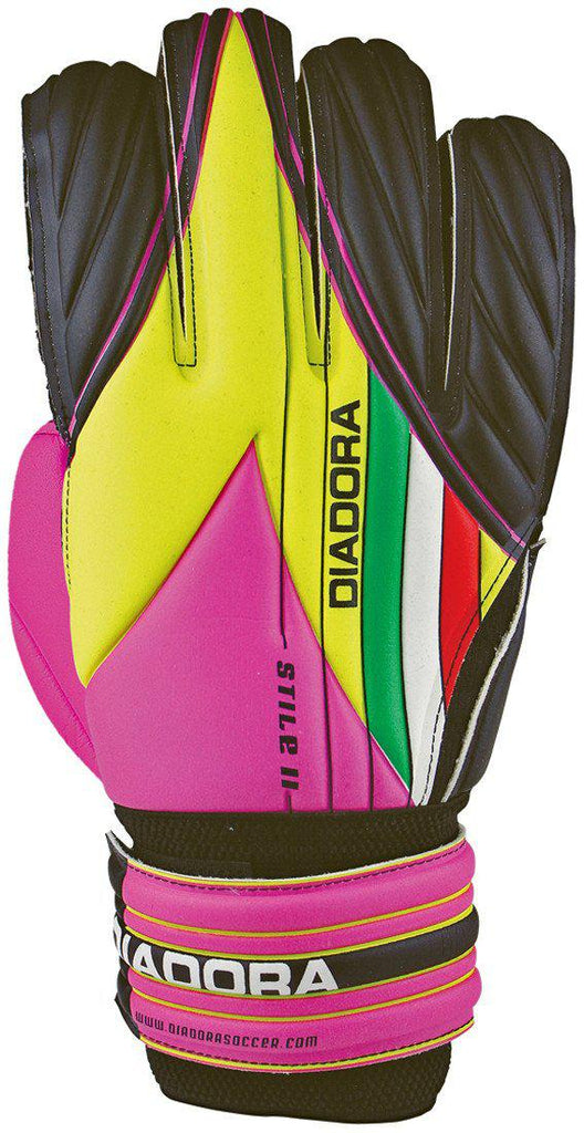 Diadora Stile Jr. Goalkeeper Gloves - Soccer Source - Your Source for Quality Soccer Equipment