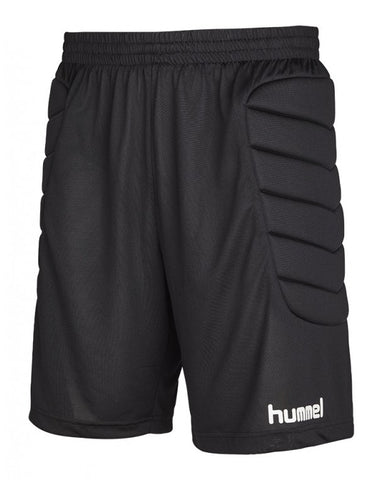 hummel Classic Soccer Goalkeeper Shorts With Padding-GK-Soccer Source