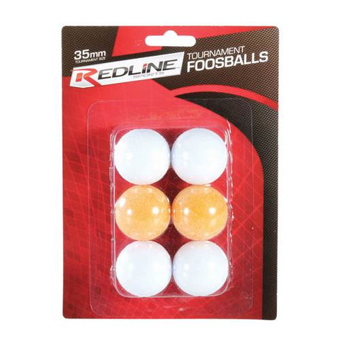 Redline Sports 6-Pack of Tourament Foosballs-Other Sports-Soccer Source