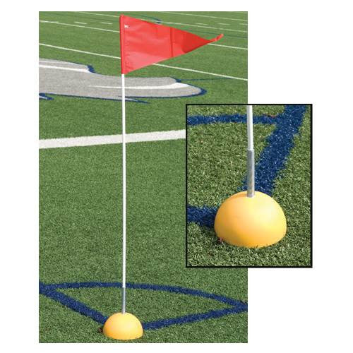 Indoor/Outdoor Soccer Corner Flag Set-Coach Accessories-Soccer Source