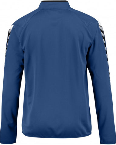 hummel Authentic Charge 14 Zip Soccer Training Sweat Top