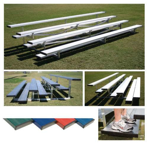 Powder Coated Low Rise Bleachers-Equipment-Soccer Source